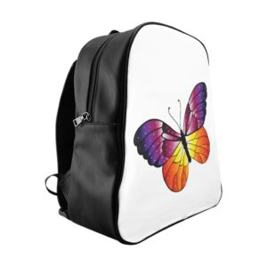 School Backpack – Butterfly