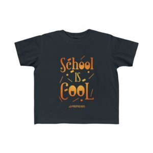 Little Kid's Fine Jersey Tee – School is Cool