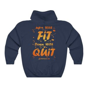 Unisex Heavy Blend™ Hooded Sweatshirt – Fit&Quit
