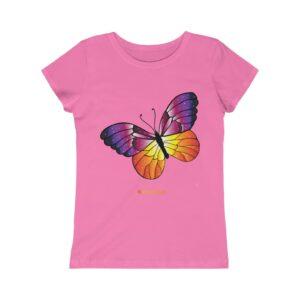 Girls Princess Tee – Butterfly
