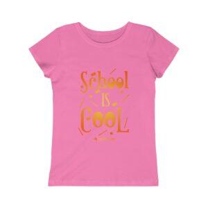Girls Princess Tee – School is Cool
