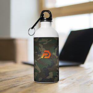 Stainless Steel Water Bottle – Prepgears Camo