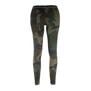 Women's Cut & Sew Casual Leggings – camo