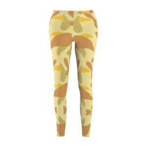 Women's Cut & Sew Casual Leggings – camo(light)