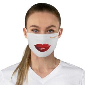 Fabric Face Mask – White