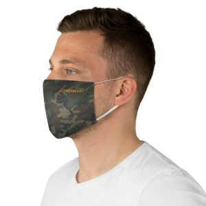Fabric Face Mask – Prepgears Camo