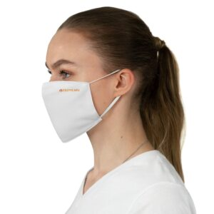 Fabric Face Mask – White – Prepgears
