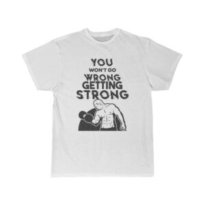 Men's Short Sleeve Tee – Getting Strong