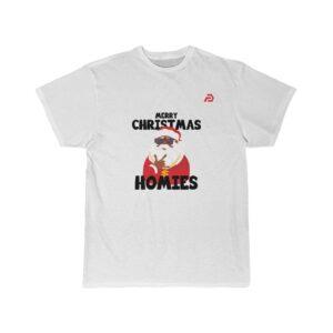 Men's Short Sleeve Tee – Hip-hop Black Santa Claus
