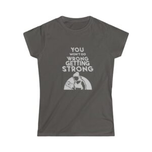 Women's Softstyle Tee – Getting Strong