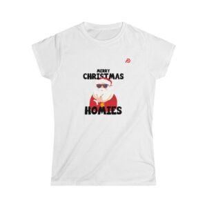 Women's Softstyle Tee – Hip-hop Santa Claus