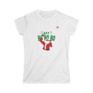 Women's Softstyle Tee – Ho Ho Ho 2