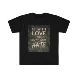 Men's / Unisex Softstyle T-Shirt – Up with Love Camo Dark